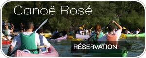 Descente canoë rosé festival des vins d'Aniane